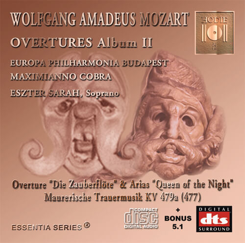 MOZART - Opera Overtures Album II - CD Audio