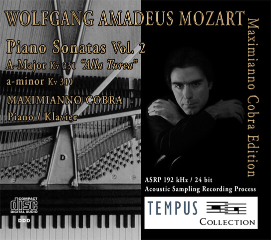 MOZART - Piano Sonatas Vol. 2 - CD Audio