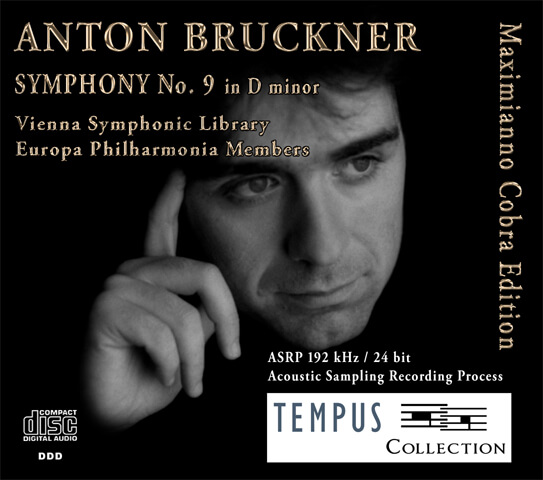 BRUCKNER - Symphony No. 9 - CD Audio