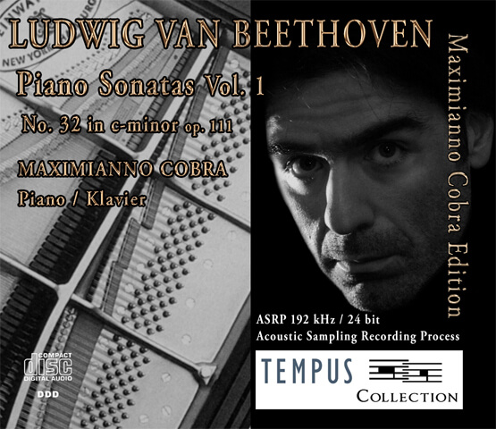 BEETHOVEN - Piano Sonatas Vol. 1 op. 111 - CD Audio
