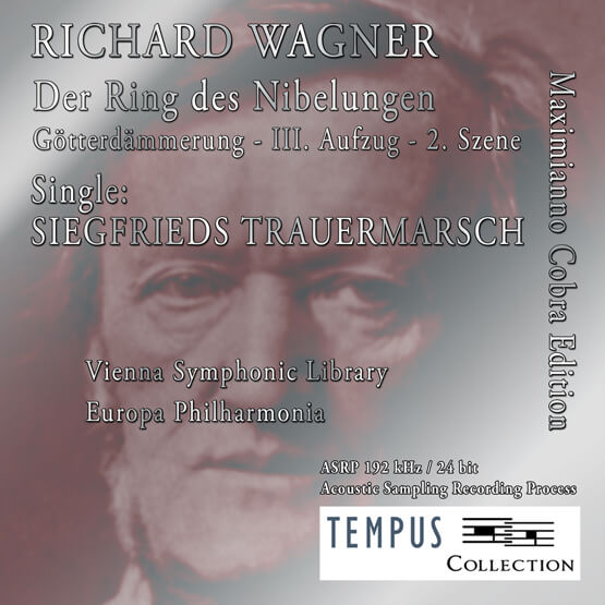 WAGNER - Siegfried's Funeral March - CD Audio