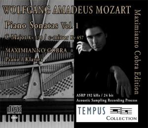 MOZART - Piano Sonatas Vol. 1 - CD Audio