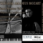 MOZART - Piano Sonatas Vol. 1 - CD Audio