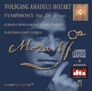 MOZART - Symphony No. 25 KV 183 - CD Audio