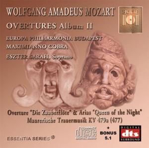 MOZART - Opera Overtures Album II - DTS CD