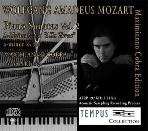 MOZART - Piano Sonatas Vol. 2 - CD Audio