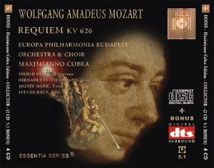 MOZART - Requiem - KV 626 - DTS CD