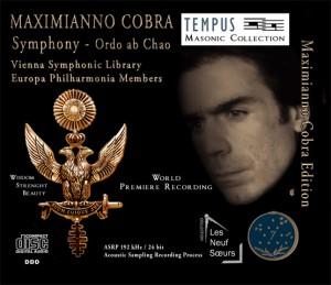 COBRA - Symphony op.1 Ordo ab Chao - CD Audio