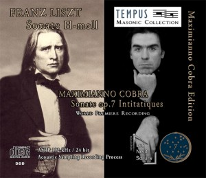 LISZT - COBRA Piano Sonatas - CD Audio