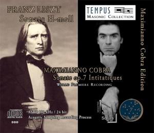 LISZT - COBRA Piano Sonatas - CD Audio